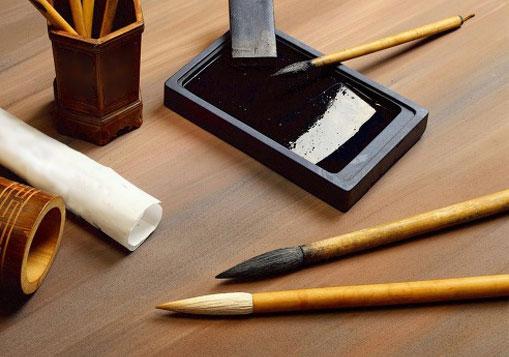 """Résultat de recherche d'images pour """"calligraphie extrême-orientale materiel"""""""