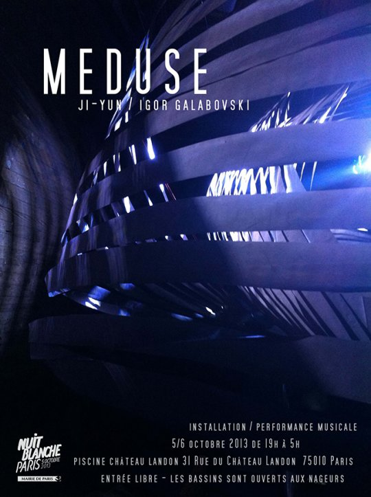 Meduse (installation / performance musicale)
