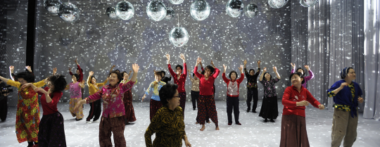안은미의 « Dancing Grandmothers »